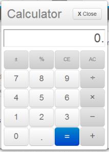 6 & 7 Grade PARCC Calculator